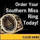 The Official Ring of The University of Southern Mississippi