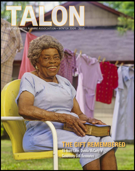 The Talon - Winter 2009-2010 Cover